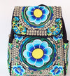 Vintage Flower Embroidered Backpack - iOffizz Shop