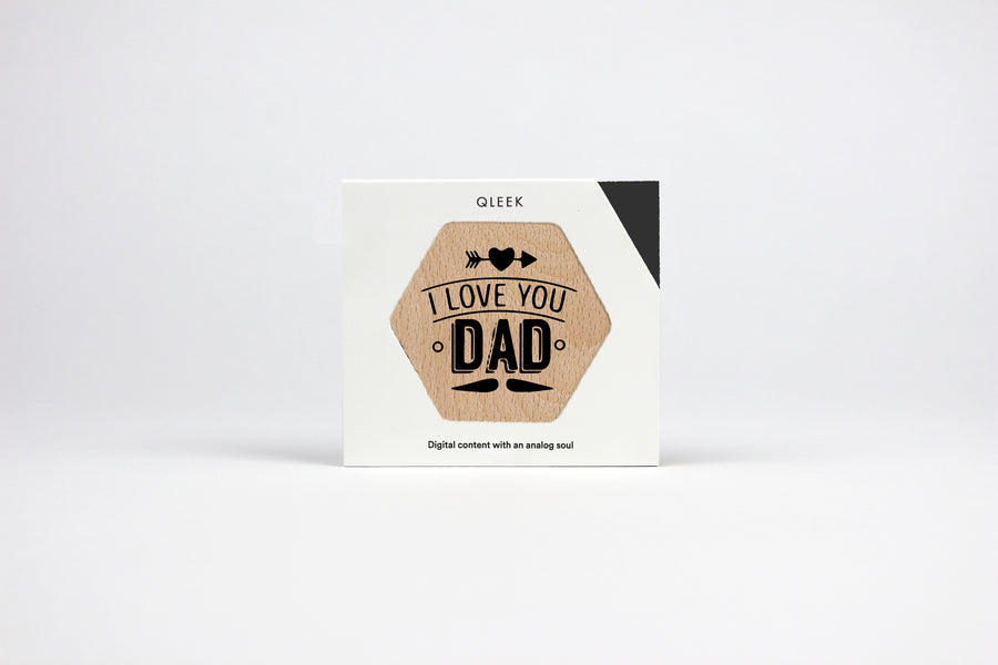Father's day wooden favor / keepsake