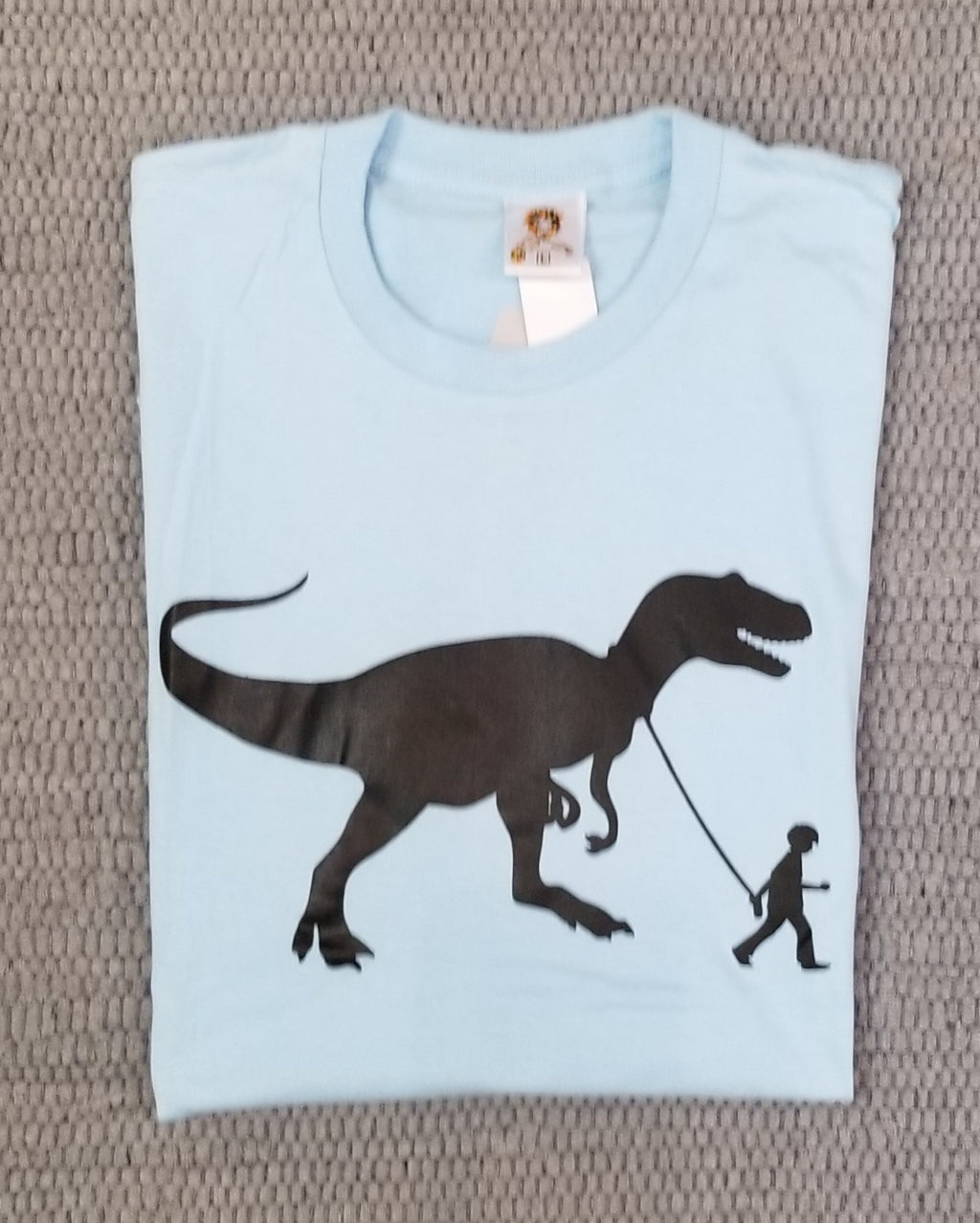 MEN'S TEE WALKING MY T. REX