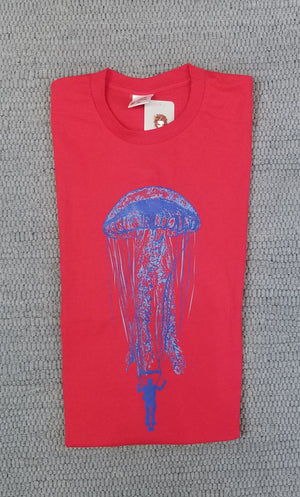 PARATROOPER WITH JELLYFISH PARACHUTE