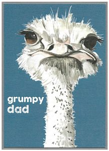 GRUMPY DAD (blank inside)