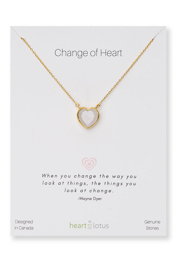 NECKLACES, CHANGE OF HEART