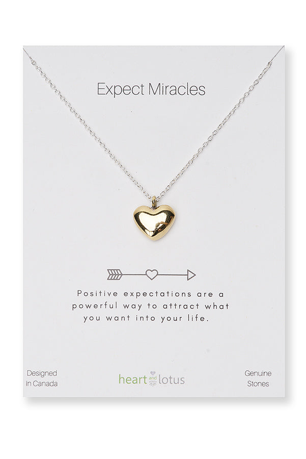 NECKLACE, EXPECT MIRACLES
