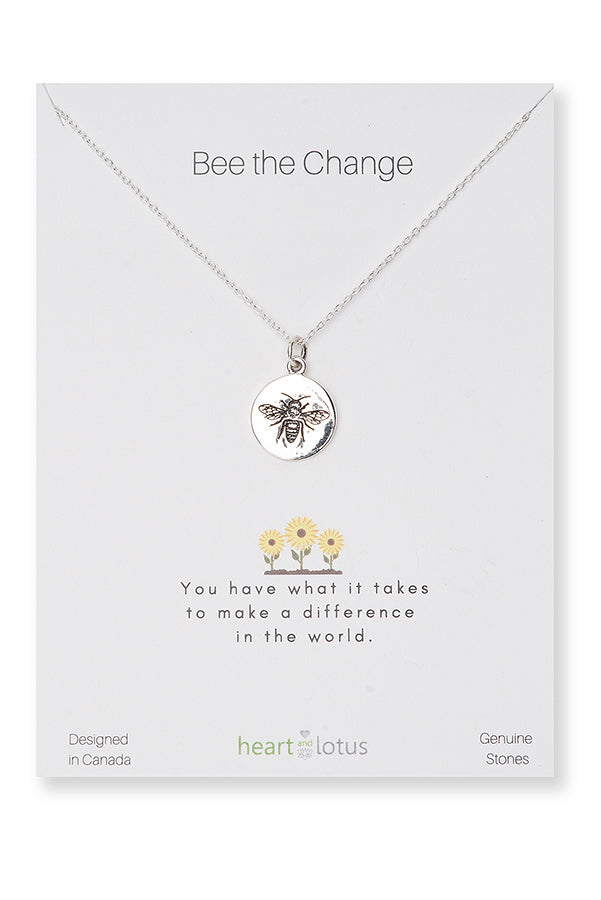 NECKLACES, BEE THE CHANGE