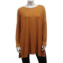 RAYON RIB KNIT BOXY TOP-ONE SIZE