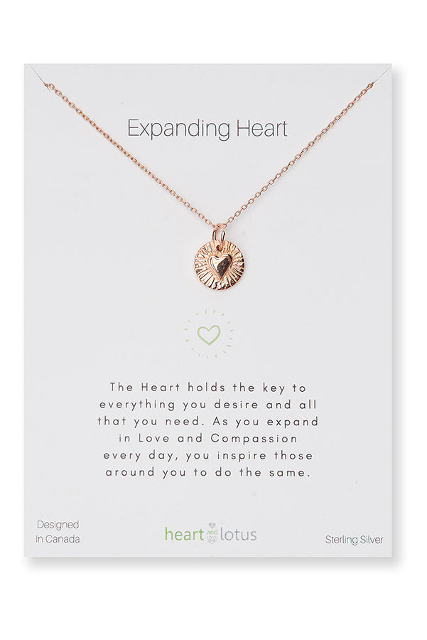 NECKLACES, EXPANDING HEART