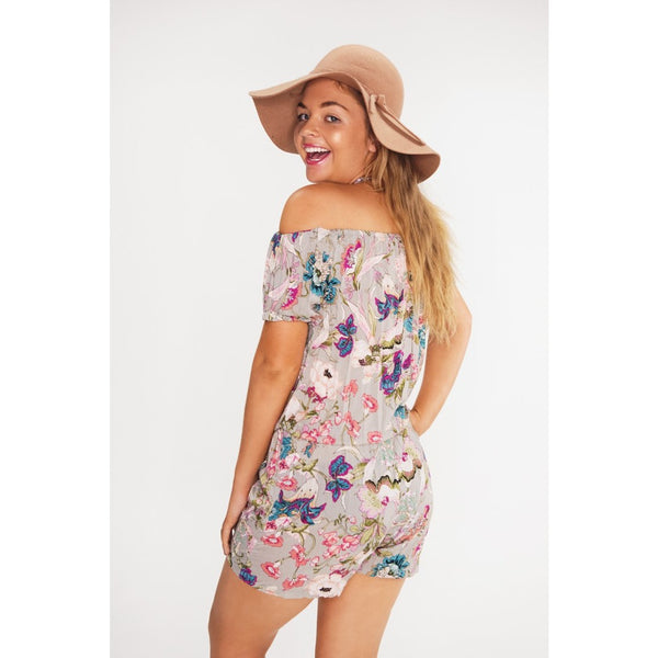 Bhavana Off The Shoulder Playsuit