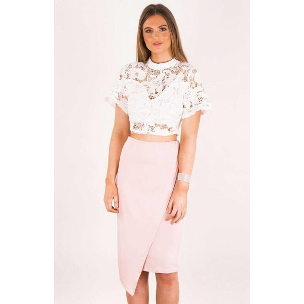 Cascade Drape Panel Skirt-Our Cascade Drape Skirt is such a sophisticated style to take out on the town