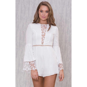 Coco Bell Sleeve Playsuit