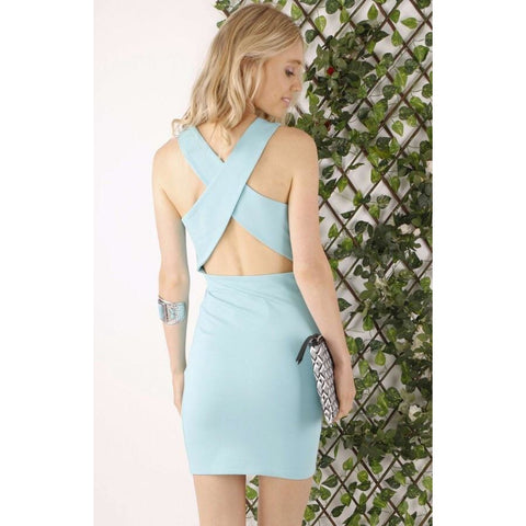 Pandora Bodycon Cross Over Dress