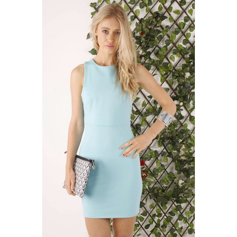 Pandora Bodycon Cross Over Dress offered by Madeleine Grace The Label