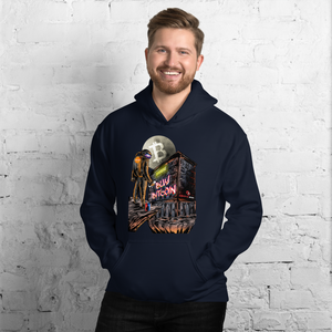 """BUY BITCOIN"" GRAFFITI CRYPTONAUT HOODIE"