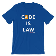 Load image into Gallery viewer, CODE IS LAW T-Shirt