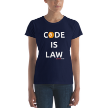 Load image into Gallery viewer, Women's Code is Law T-shirt