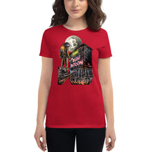 "Load image into Gallery viewer, Women's ""Buy Bitcoin"" Cryptonaut Short sleeve"