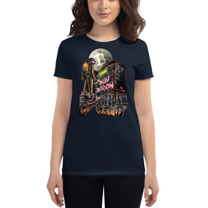 "Women's ""Buy Bitcoin"" Cryptonaut Short sleeve"