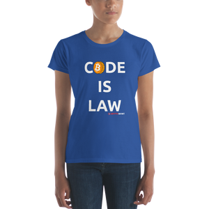 Women's Code is Law T-shirt