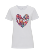Short Sleeved MAMA LOVE T Shirt