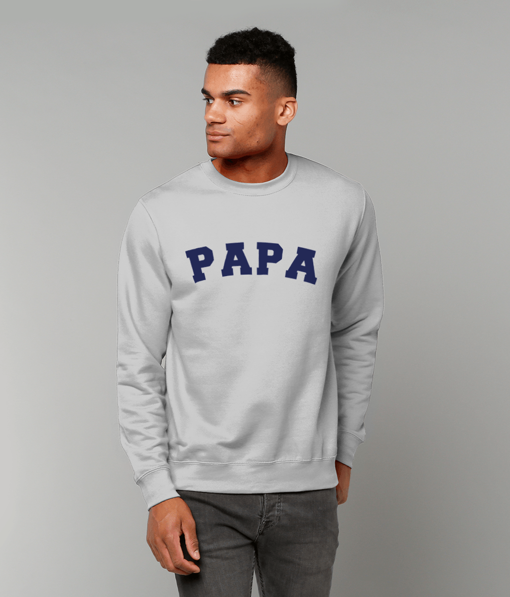 Lightweight Gym Dad PAPA Sweatshirts