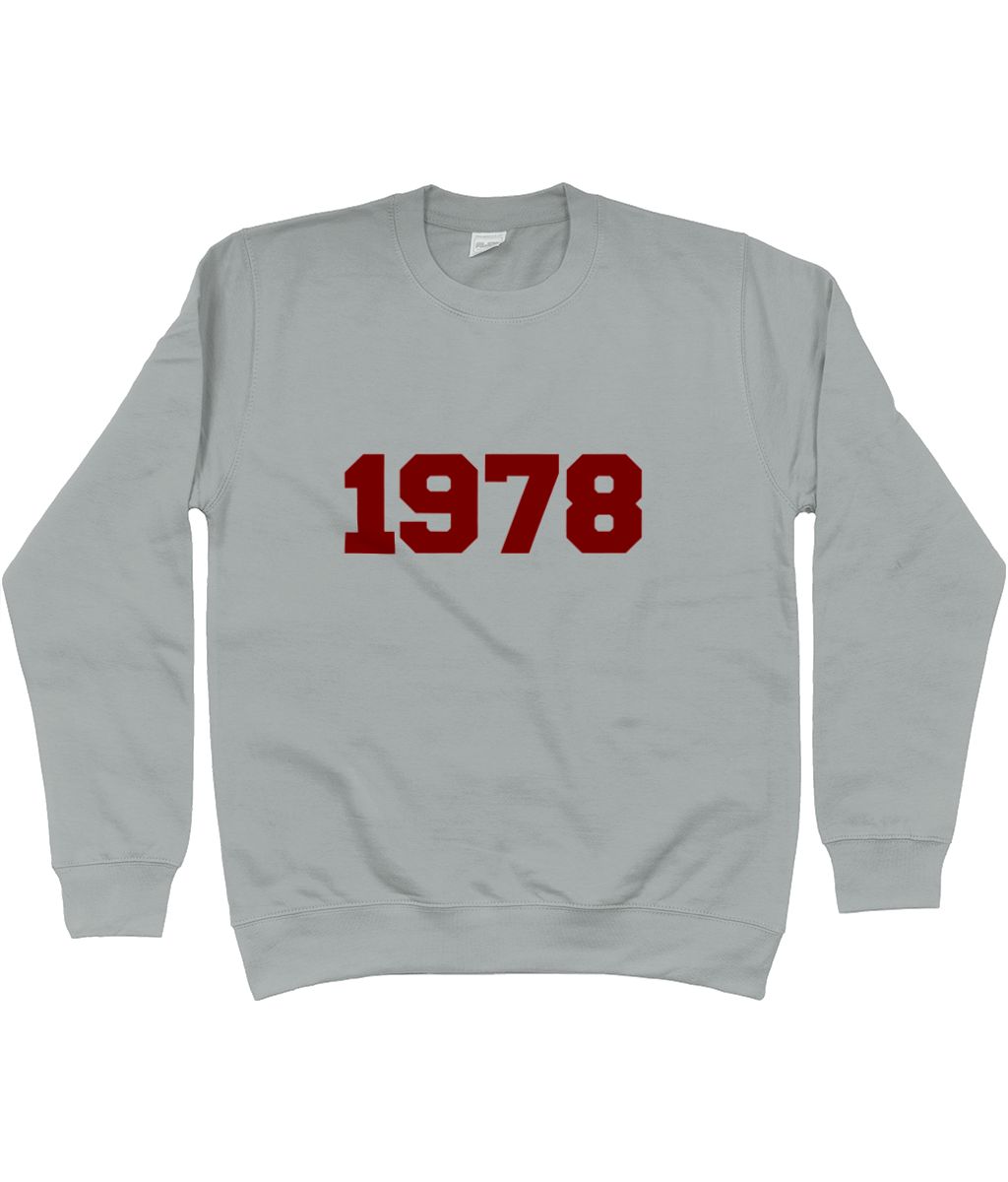 Personalised Year Sweatshirt