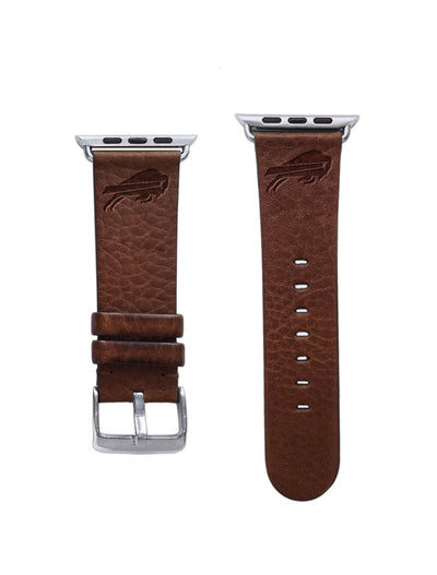Buffalo Bills Leather Apple Watch Band-AffinityBands