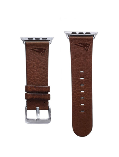 New England Patriots Leather Apple Watch Band