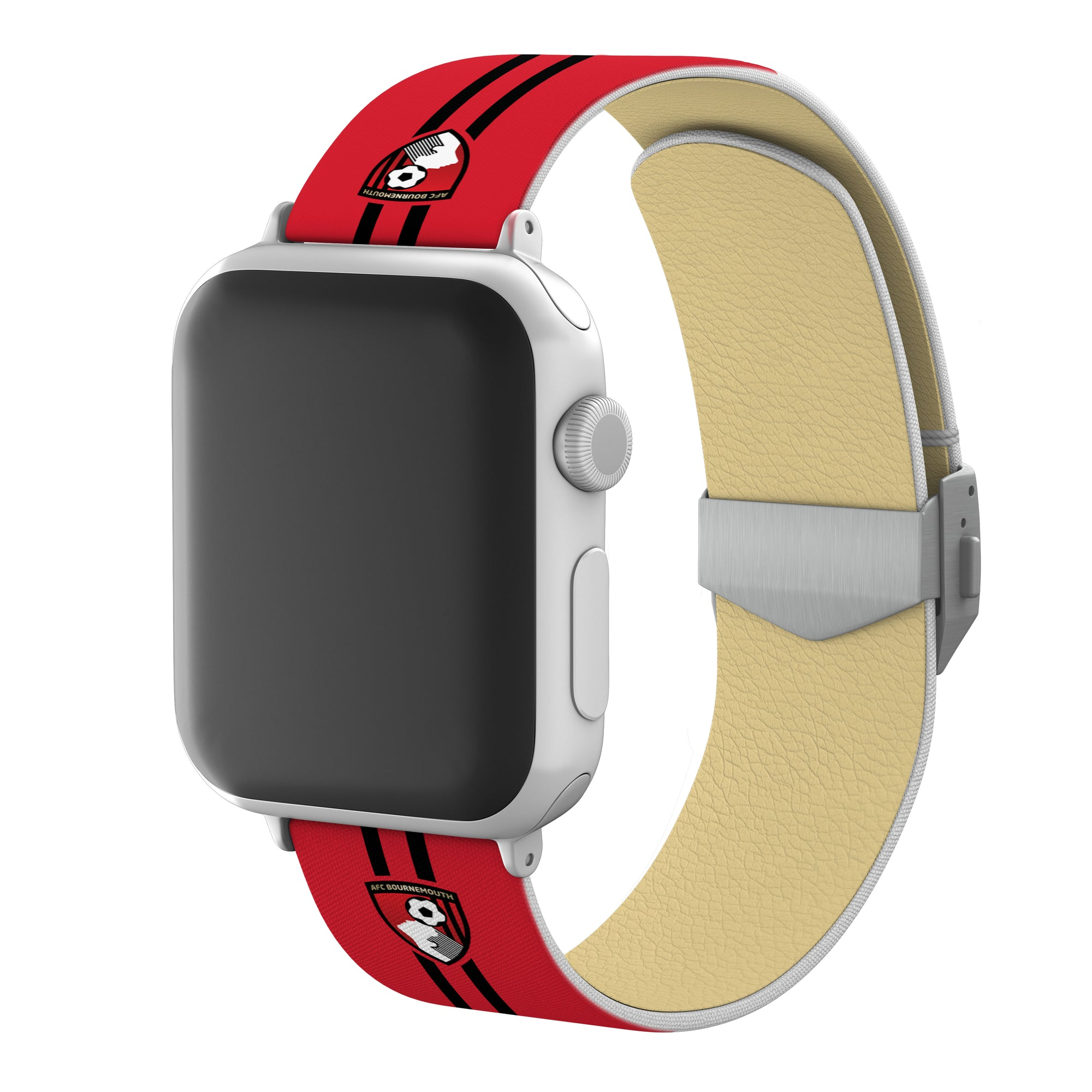 AFC Bournemouth Full Print Apple Watch Band With Engraved Buckle