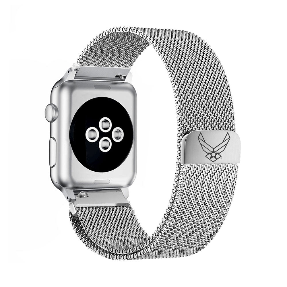 U.S. Air Force Stainless Steel Apple Watch Band