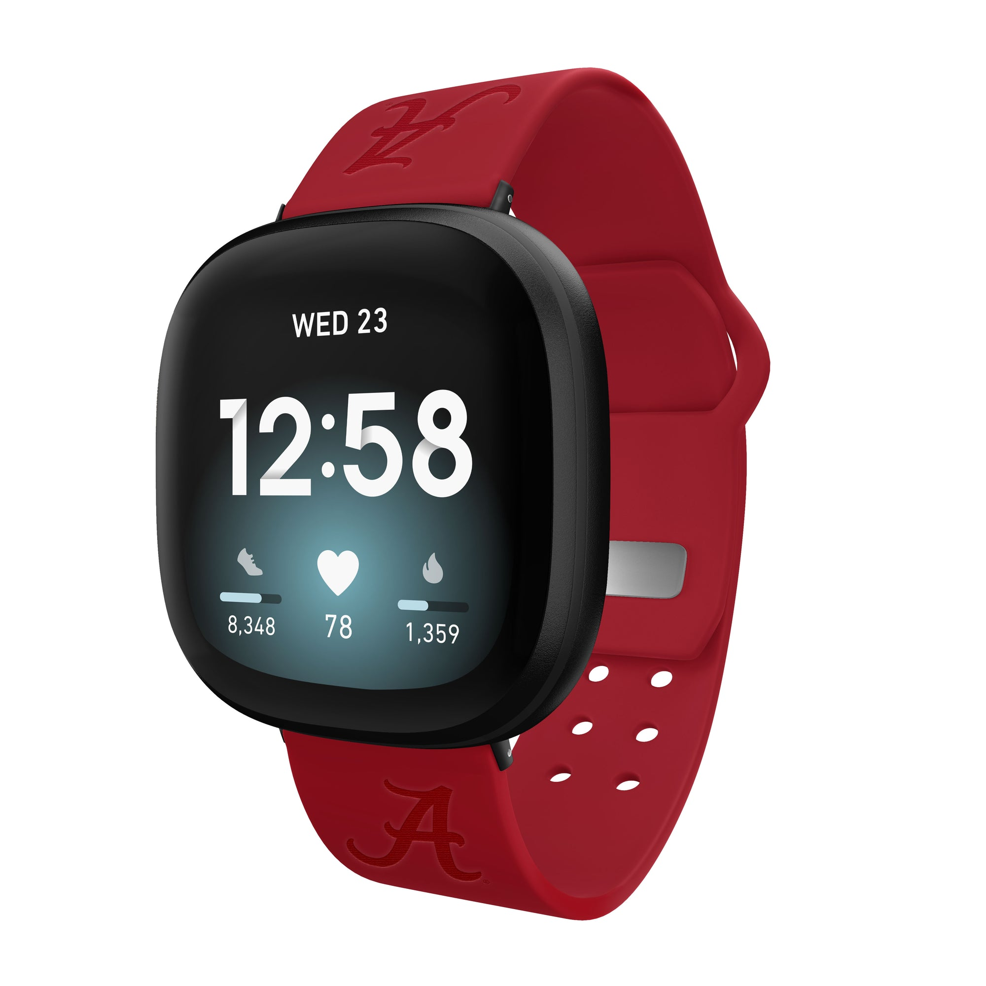 Alabama Crimson Tide Debossed Airpod Case Cover - AffinityBands