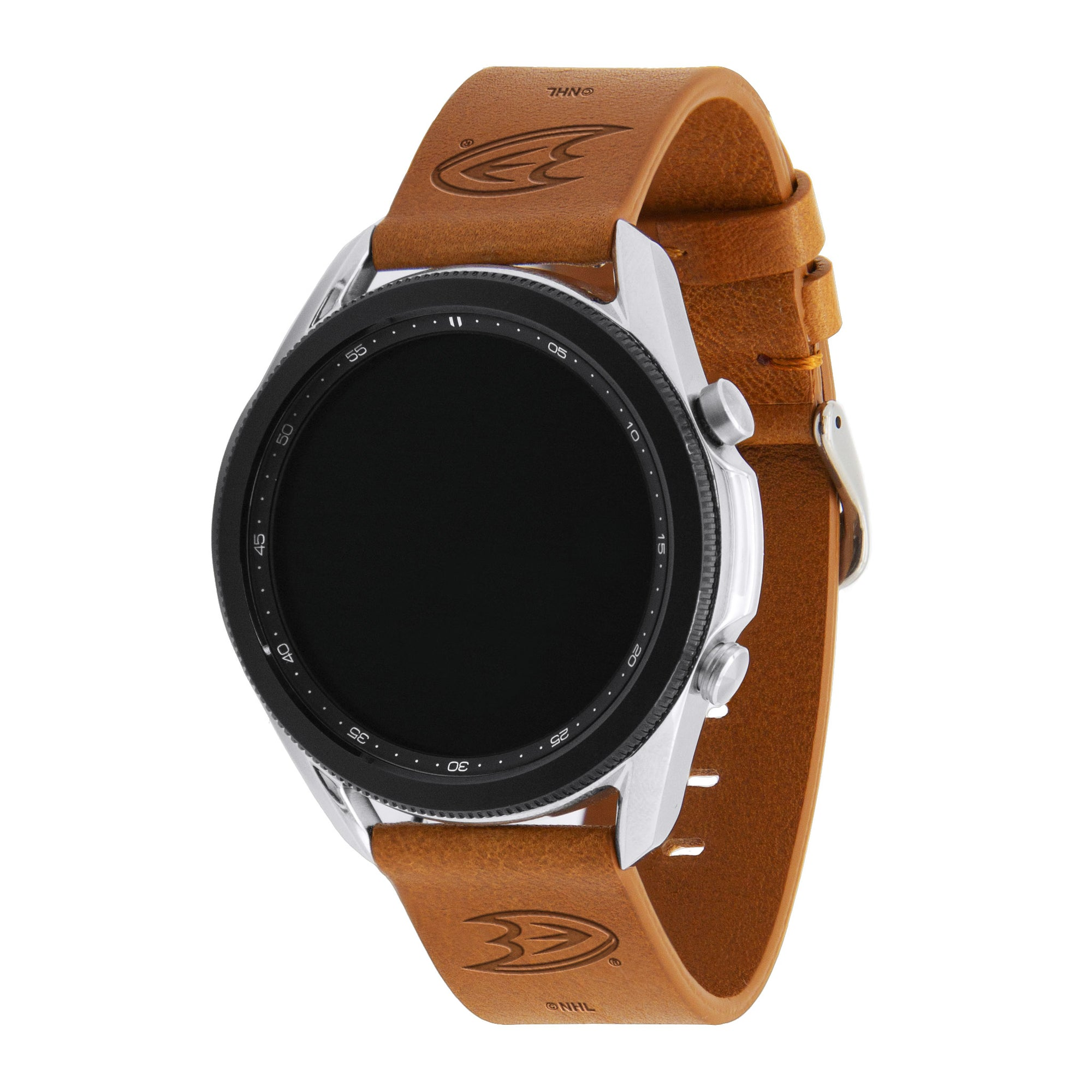 Anaheim Ducks Quick Change Leather Watch Band