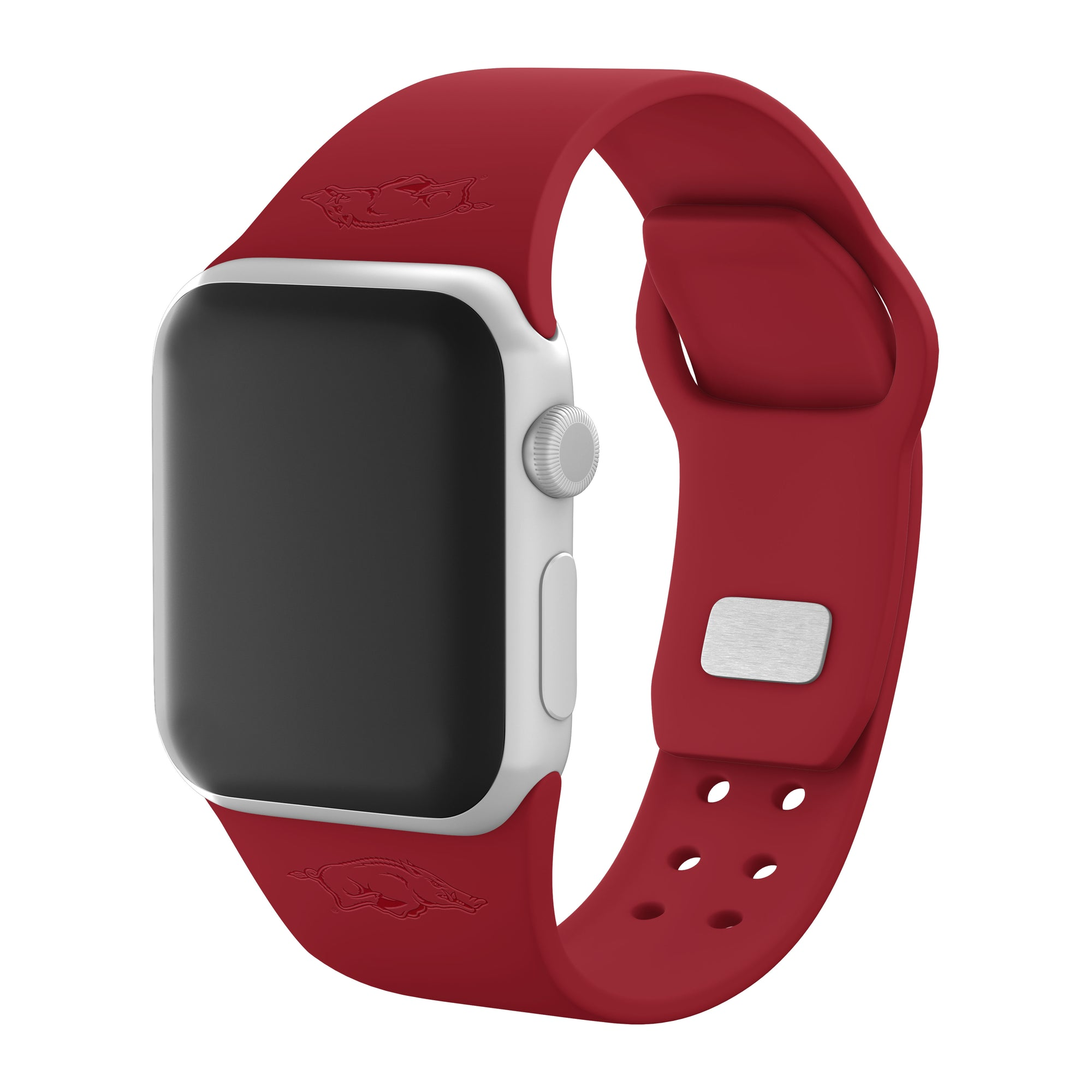 Arkansas Razorbacks Debossed Apple Watch Band