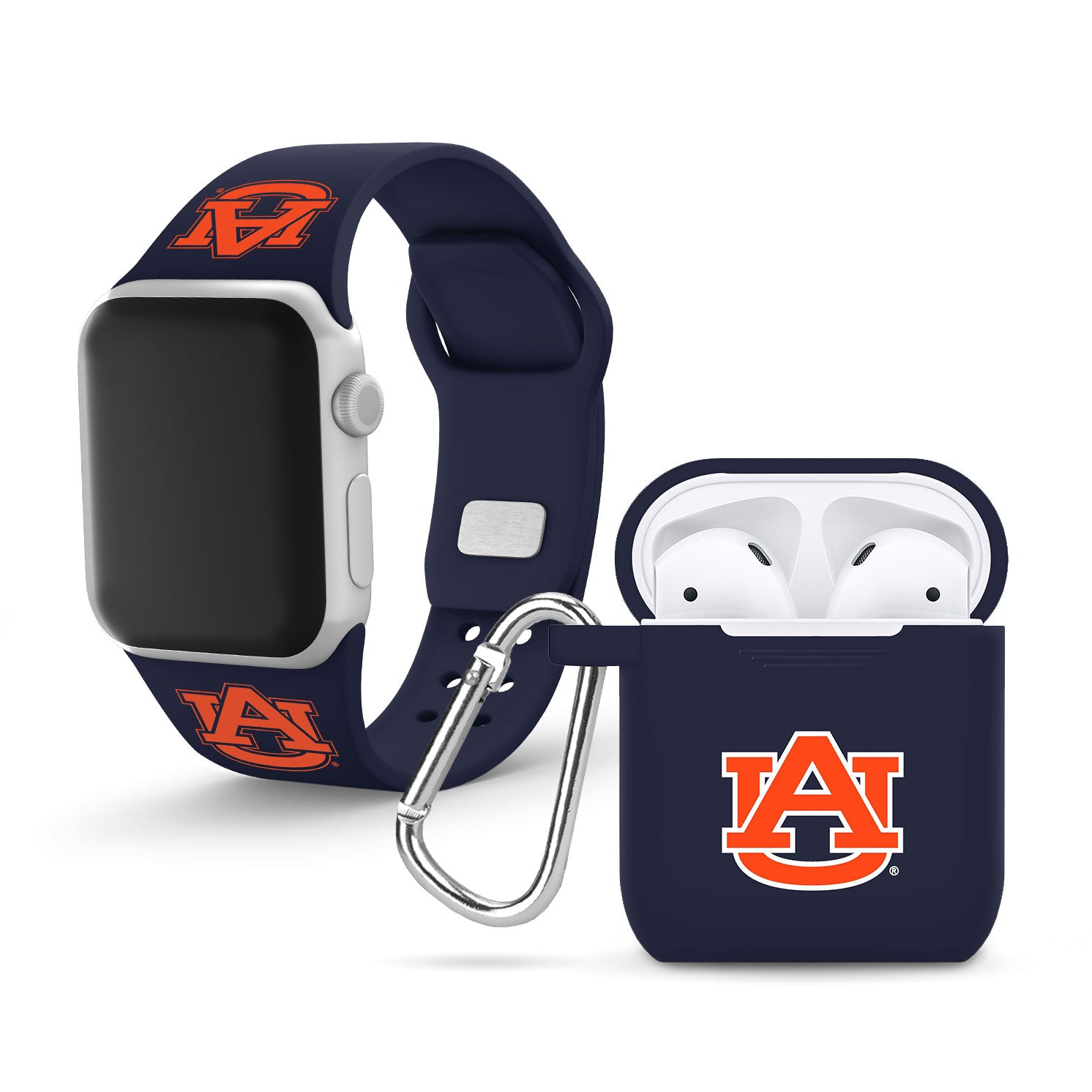 Auburn Tigers Debossed Apple Combo Package