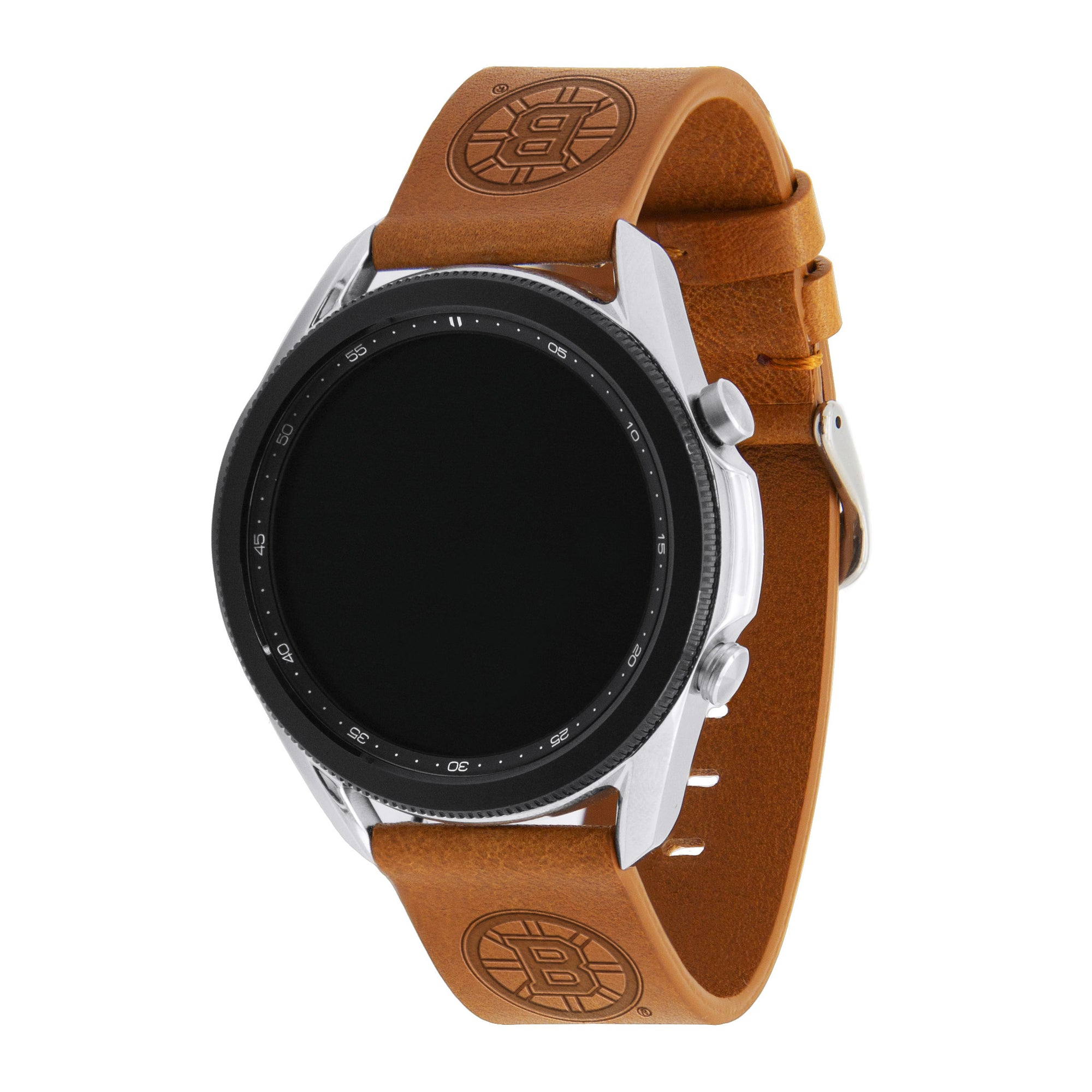 Boston Bruins Quick Change Leather Watch Band - AffinityBands
