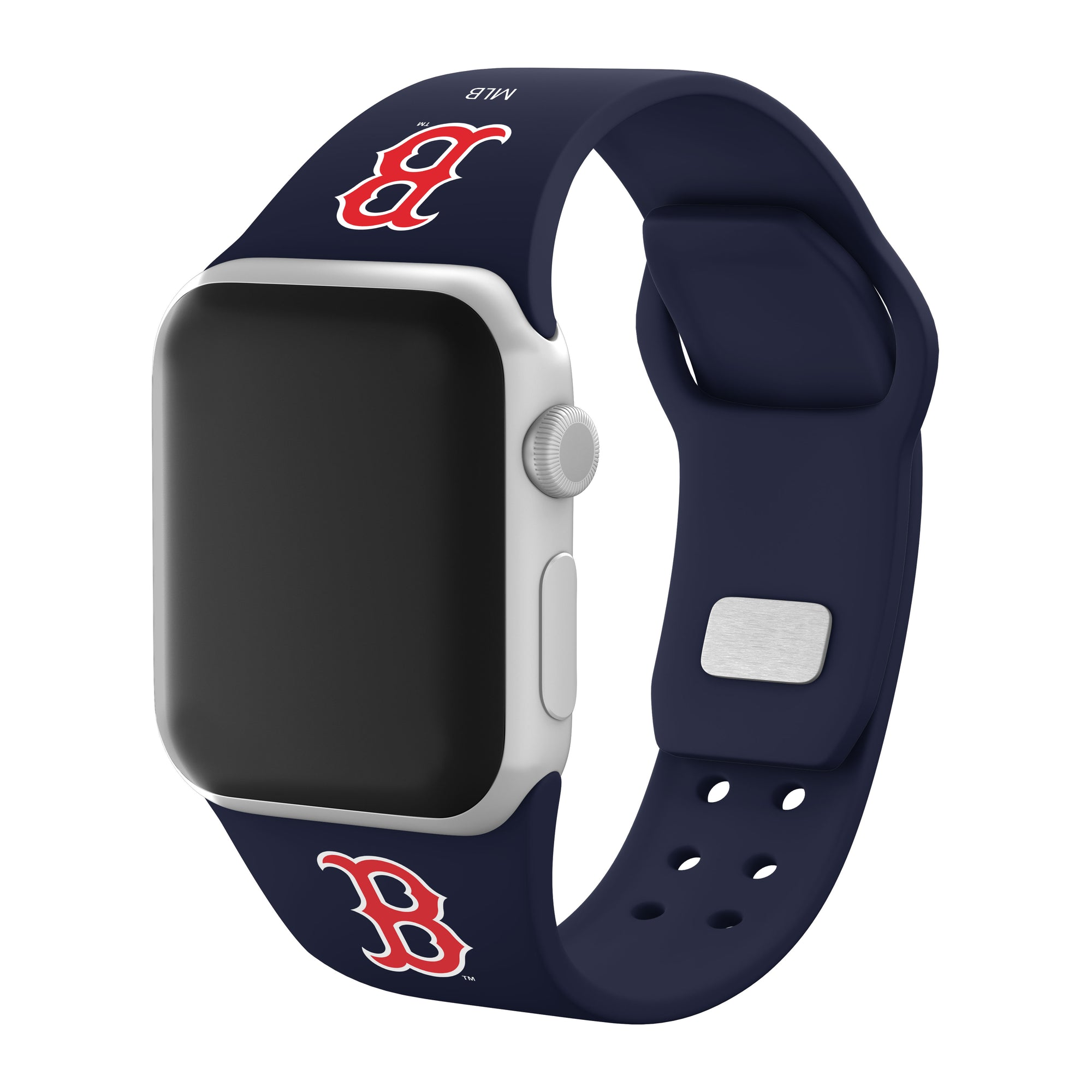 Boston Red Sox Silicone Apple Watch Band - AffinityBands