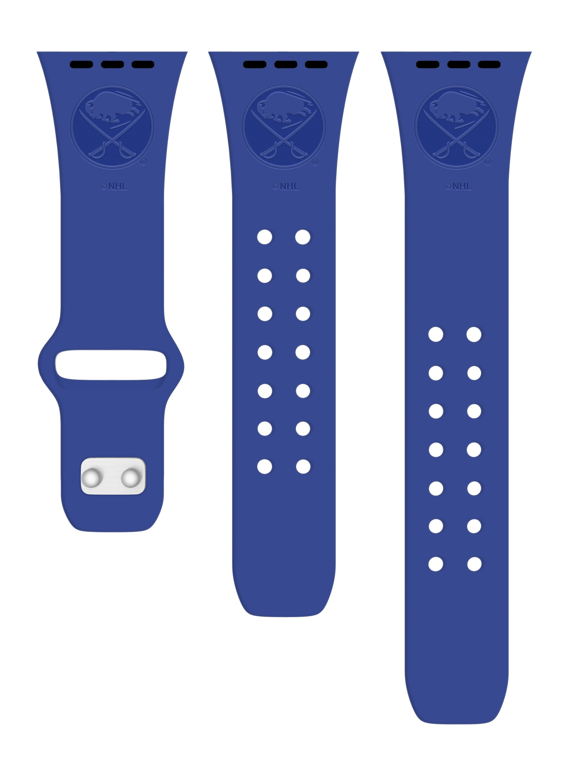 Buffalo Sabres Debossed Apple Watch Band
