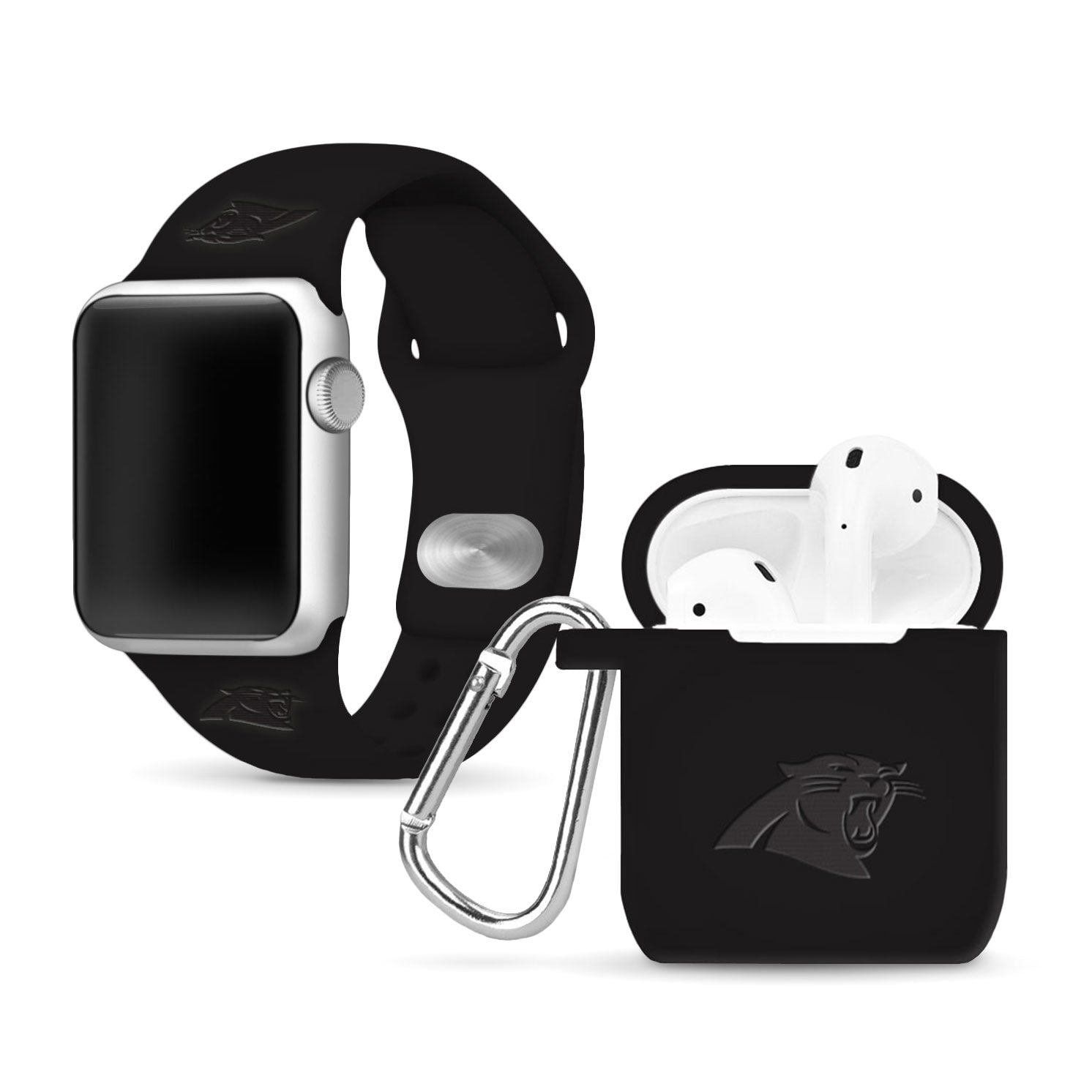 Carolina Panthers Debossed Apple Combo Package - AffinityBands