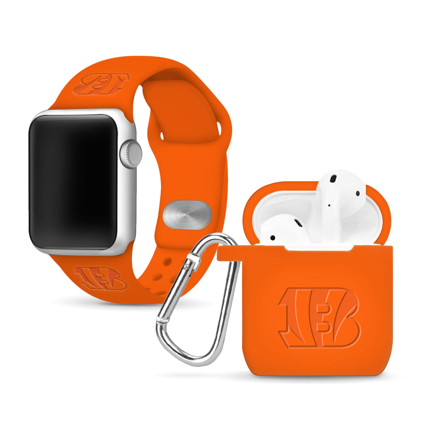Cincinnati Bengals Debossed Apple Combo Package - AffinityBands