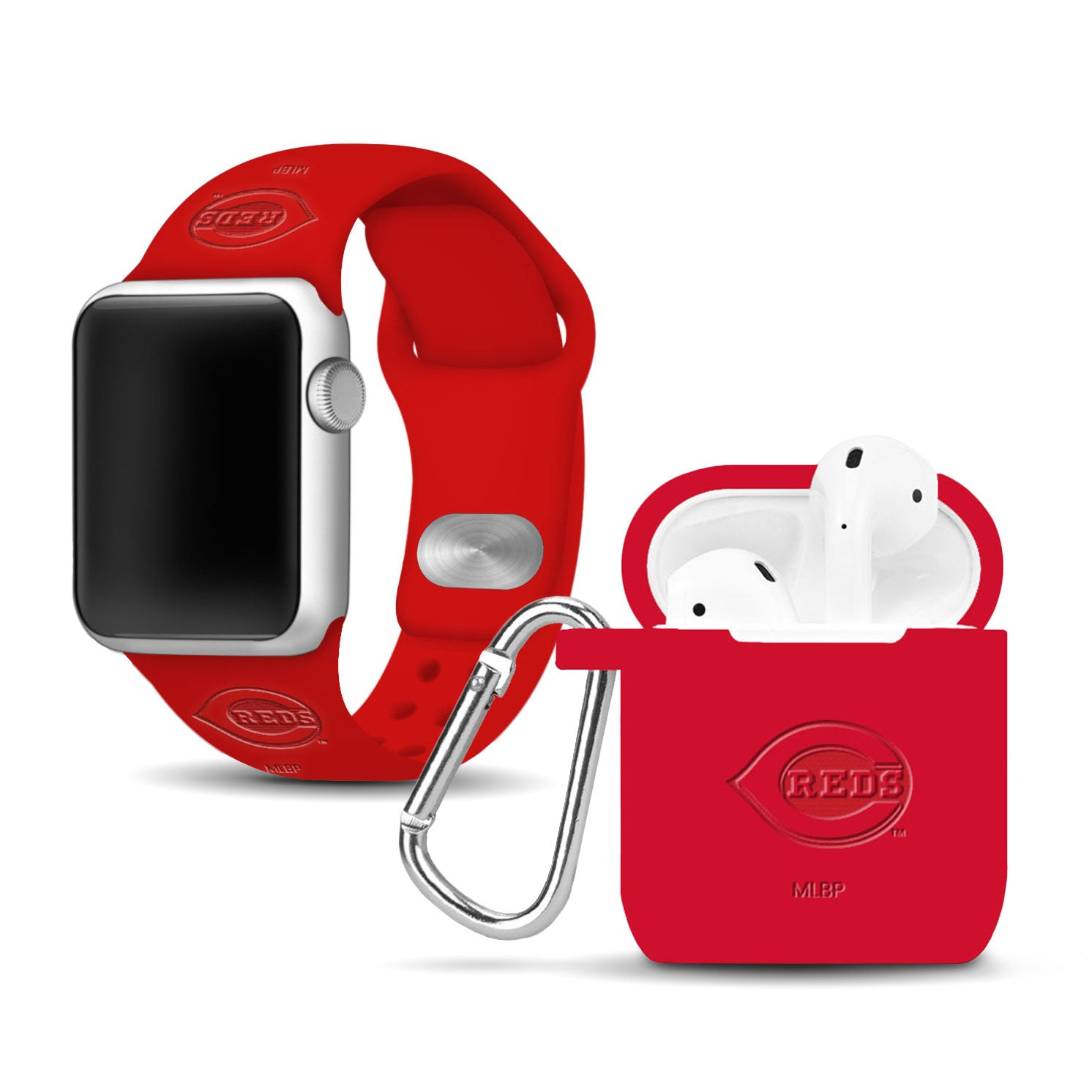 Cincinnati Reds Debossed Apple Combo Package - AffinityBands