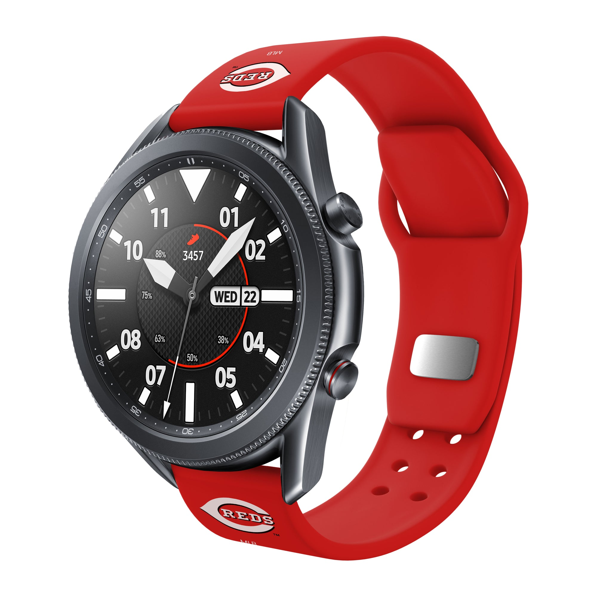 Cincinnati Reds Quick Change Silicone Watch Band - AffinityBands