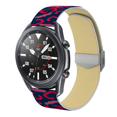 Cleveland Indians Debossed Silicone Watchband