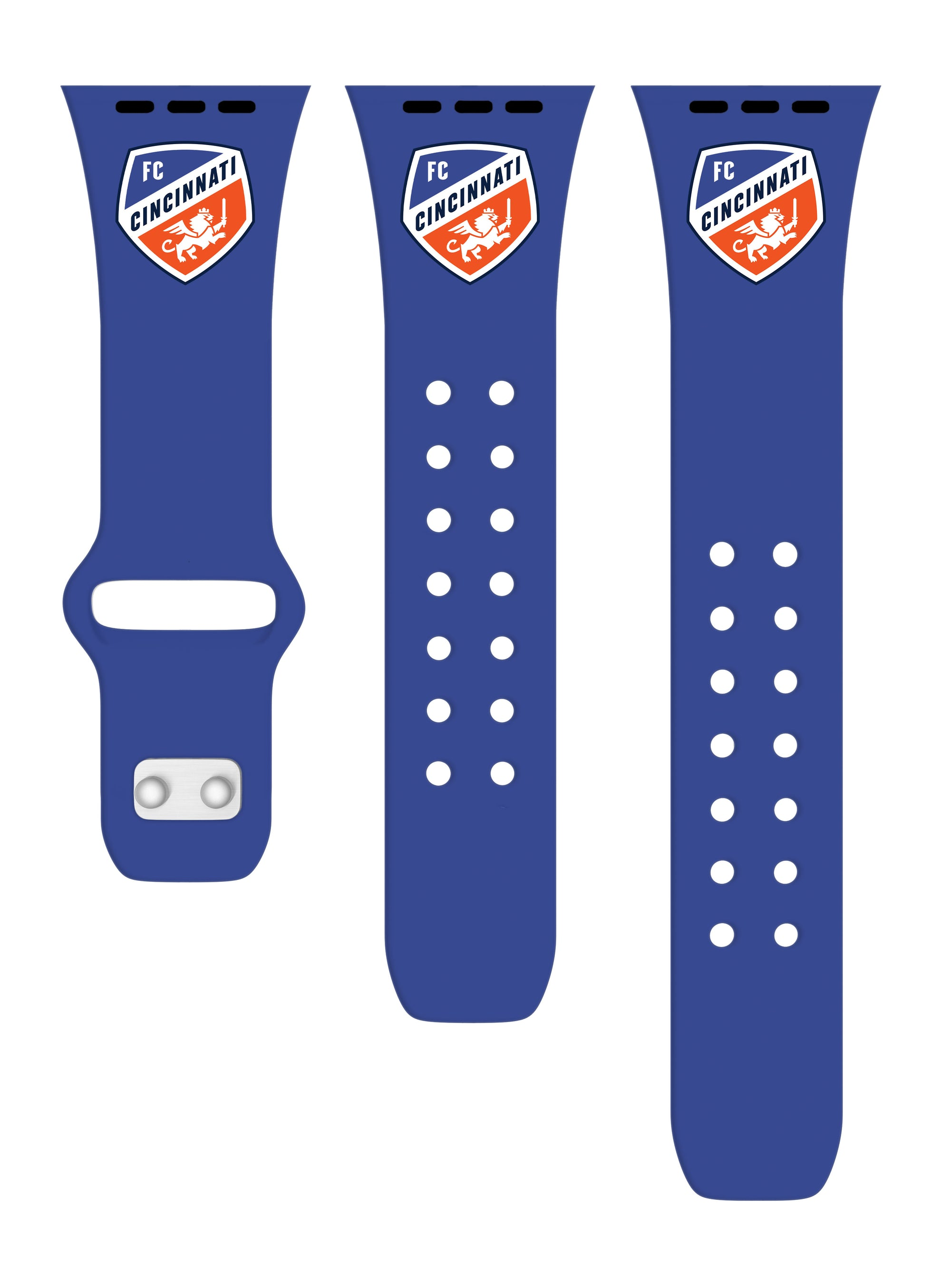 FC Cincinnati Silicone Apple Watch Band - AffinityBands