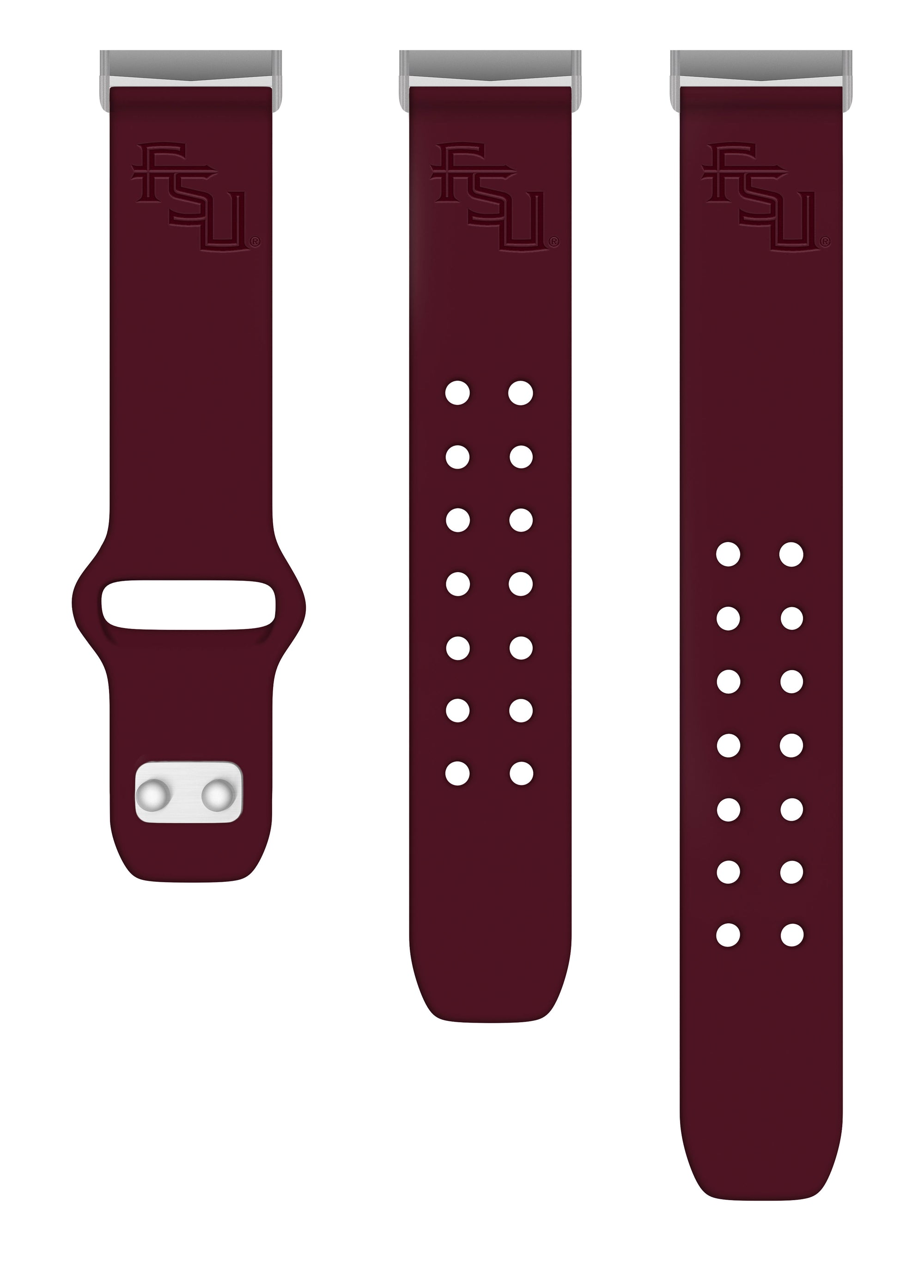 Florida State Seminoles Debossed Silicone Watchband - AffinityBands