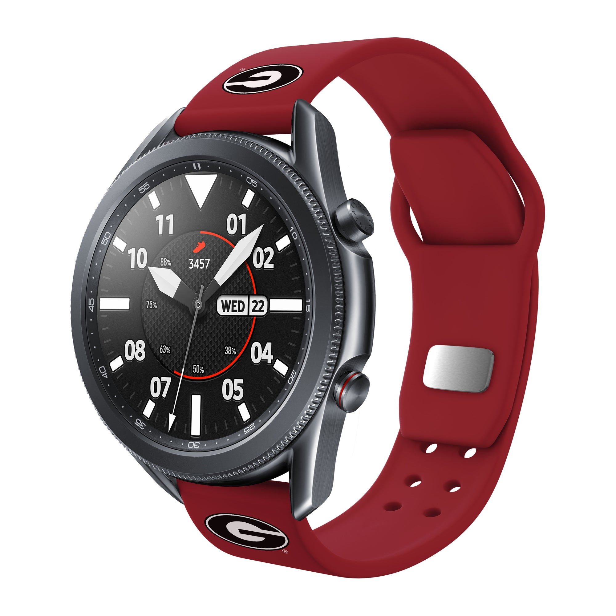 Georgia Bulldogs Quick Change Silicone Watchband - AffinityBands