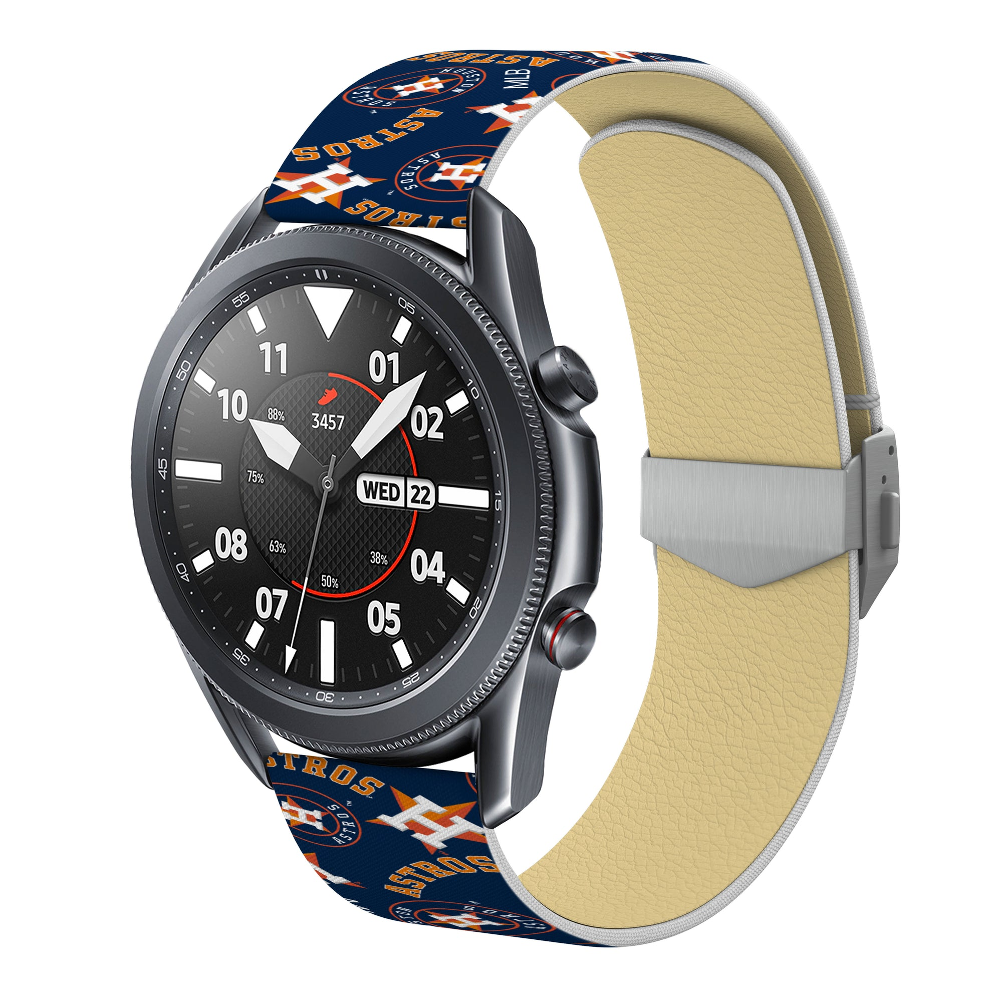 Houston Astros Debossed Silicone Watchband