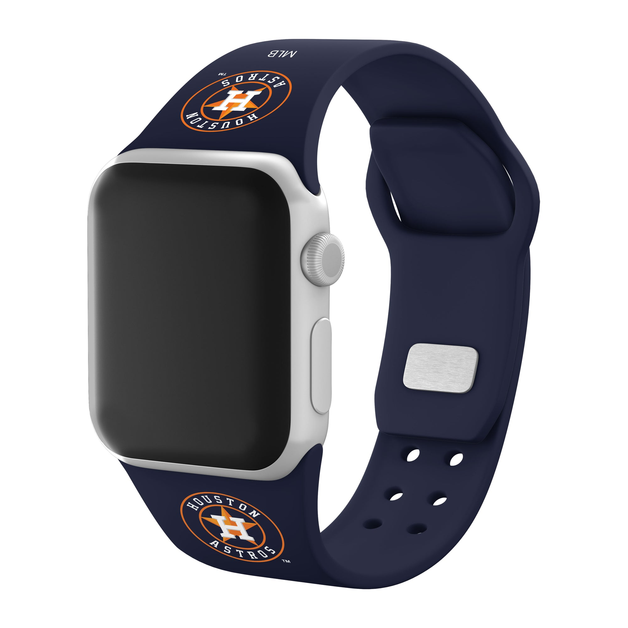 Houston Astros Silicone Apple Watchband-AffinityBands