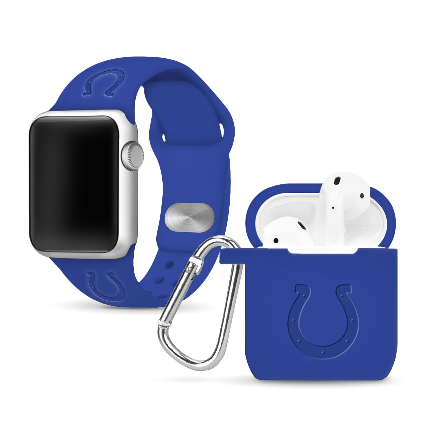 Indianapolis Colts Debossed Apple Combo Package - AffinityBands