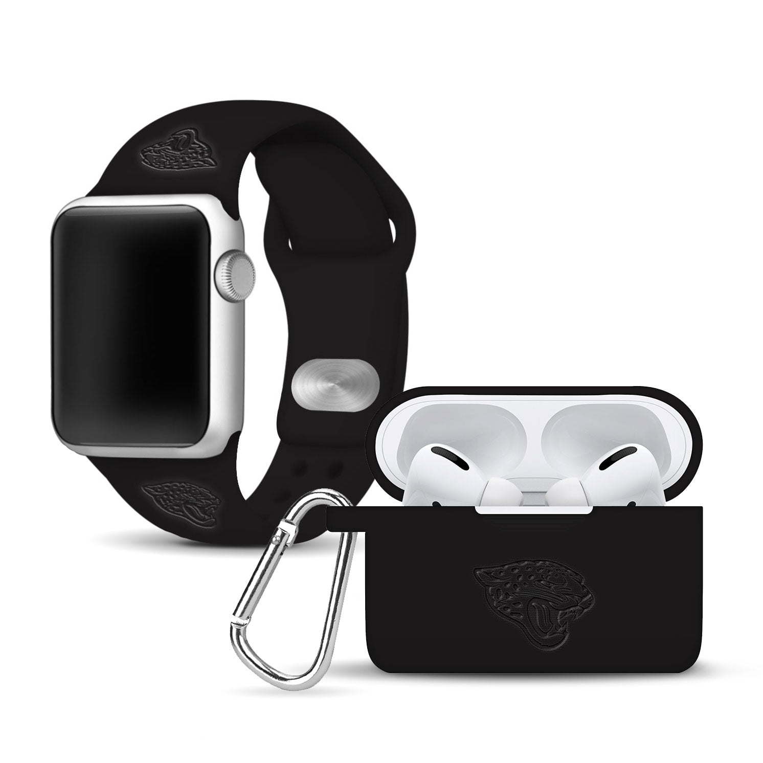 Jacksonville Jaguars Debossed Apple Pro Combo Package - AffinityBands