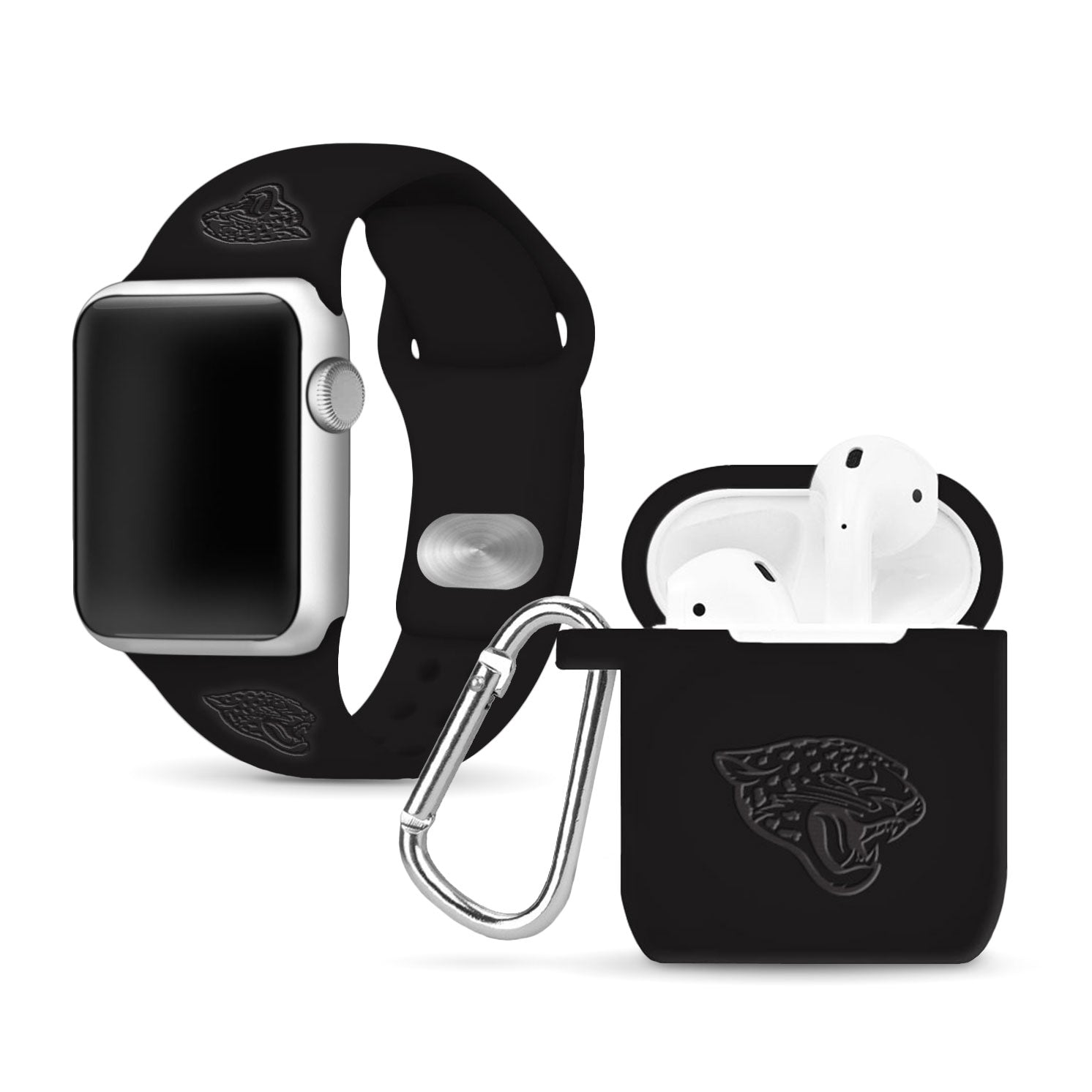 Jacksonville Jaguars Debossed Apple Combo Package - AffinityBands