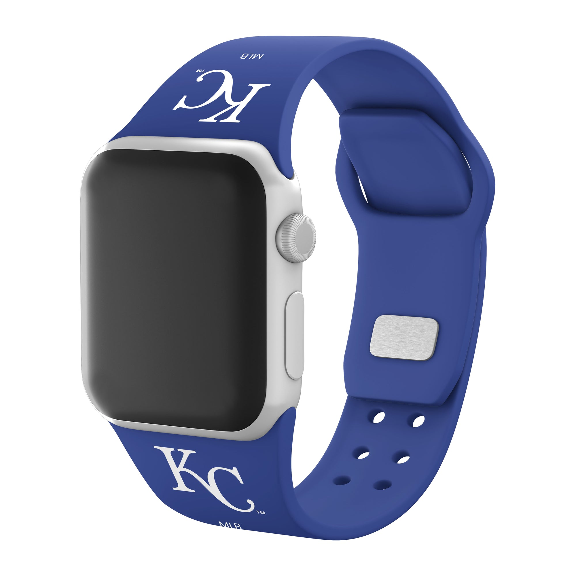 Kansas City Royals Silicone Apple Watchband-AffinityBands