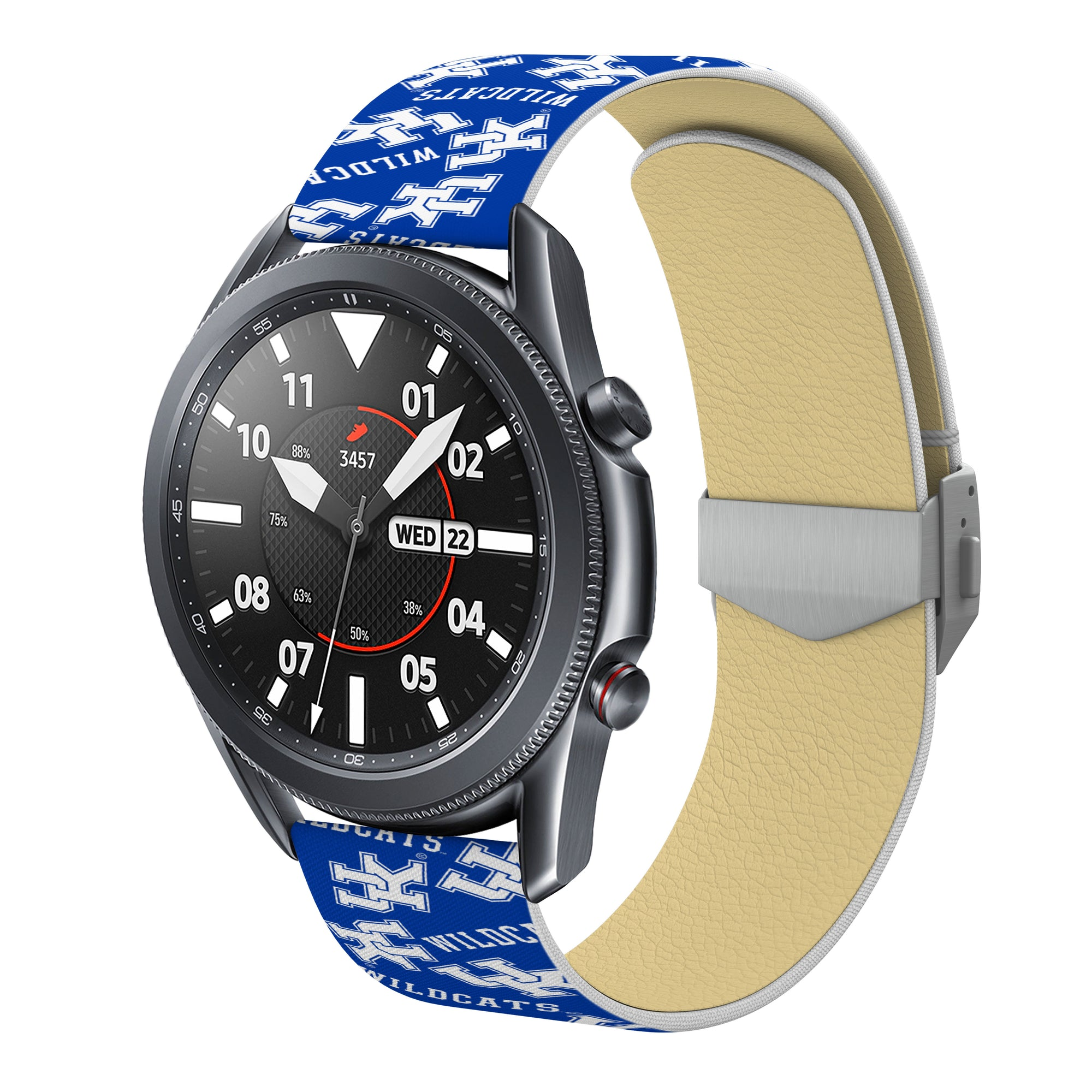 Kentucky Wildcats Full Print Quick Change Watch Band With Engraved Buckle - AffinityBands